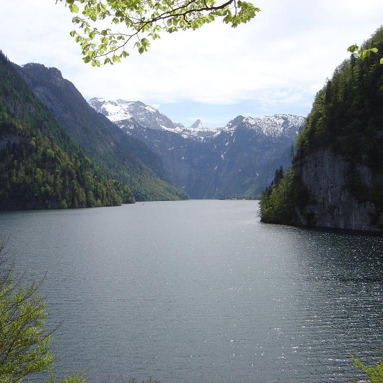 Wandern im Bayerischen Wald in Deutschland.