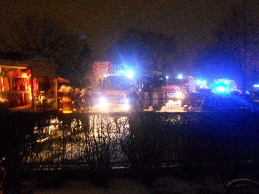 Bei einem Brand in Wiener Neustadt standen gleich mehrere Kellerabteile in Flammen.