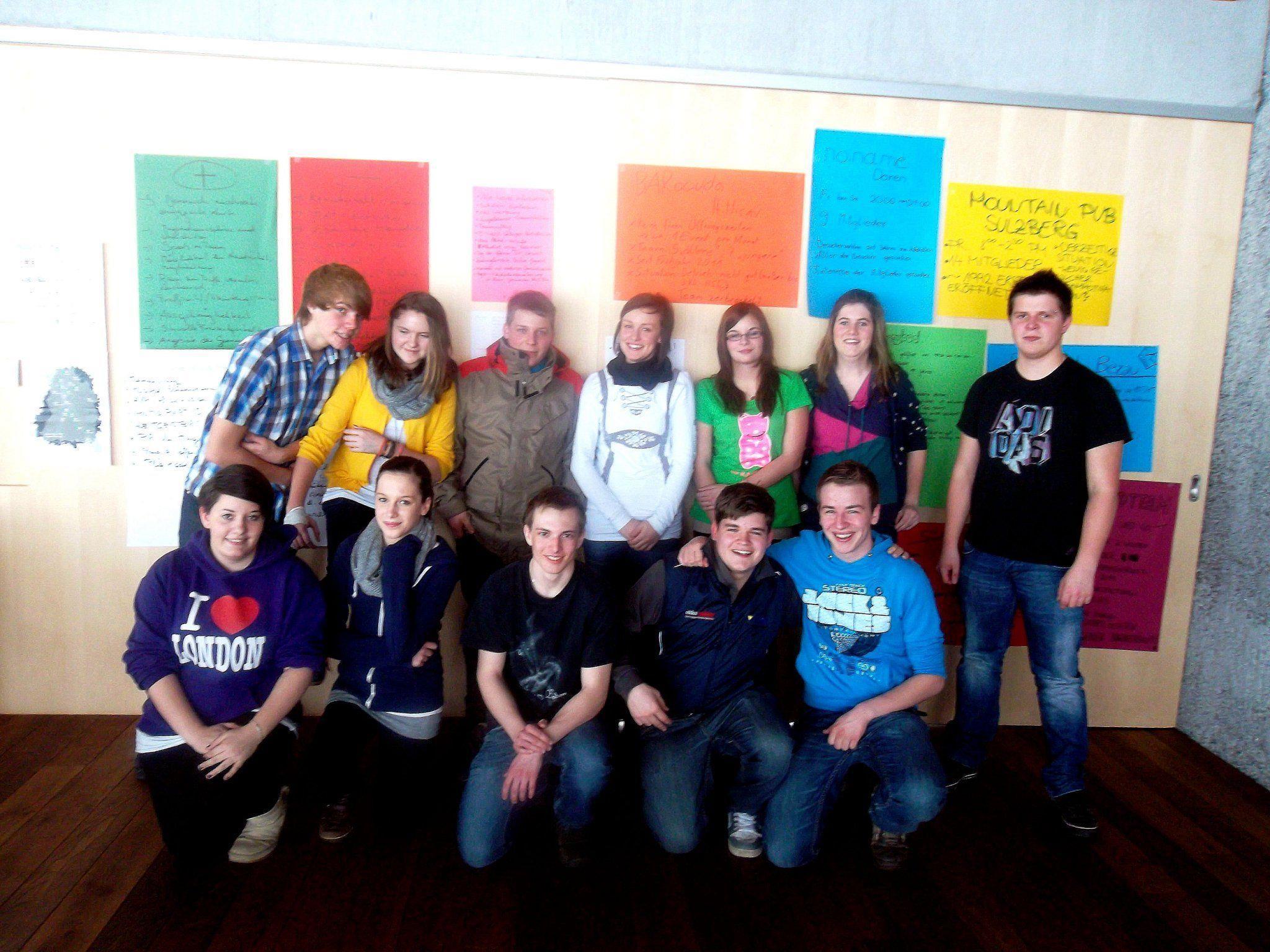 Das Team der Offenen Jugendarbeit Bregenzerwald engagiert sich für Jugendliche.