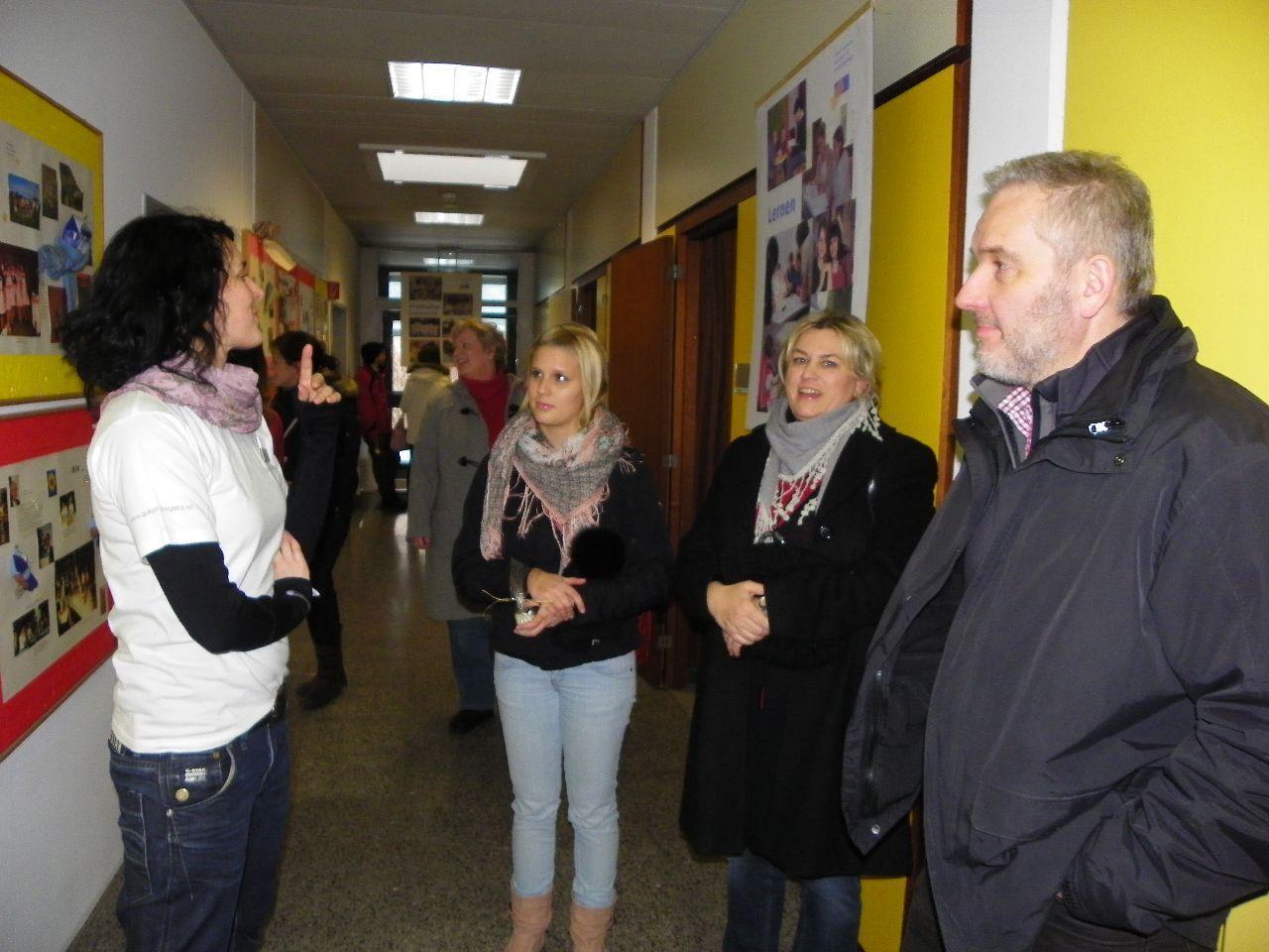 Besucher informierten sich am Tag der offenen Tür