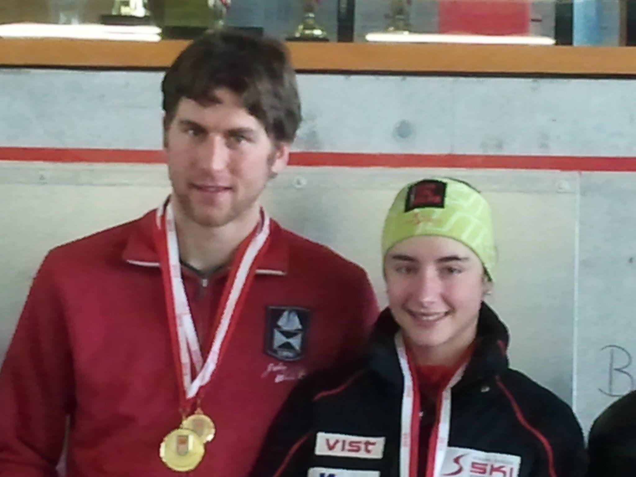 Jasmin Berchtold und Bernhard Bär sind neue Landesmeister.