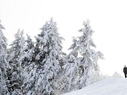 In Tirol ist es frostig