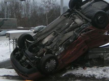 Schwerer Verkehrsunfall in Leoben