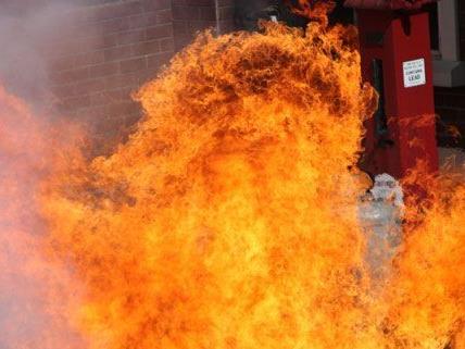 Schwerer Brand in einem Haus in Kapfenberg/Symbolbild