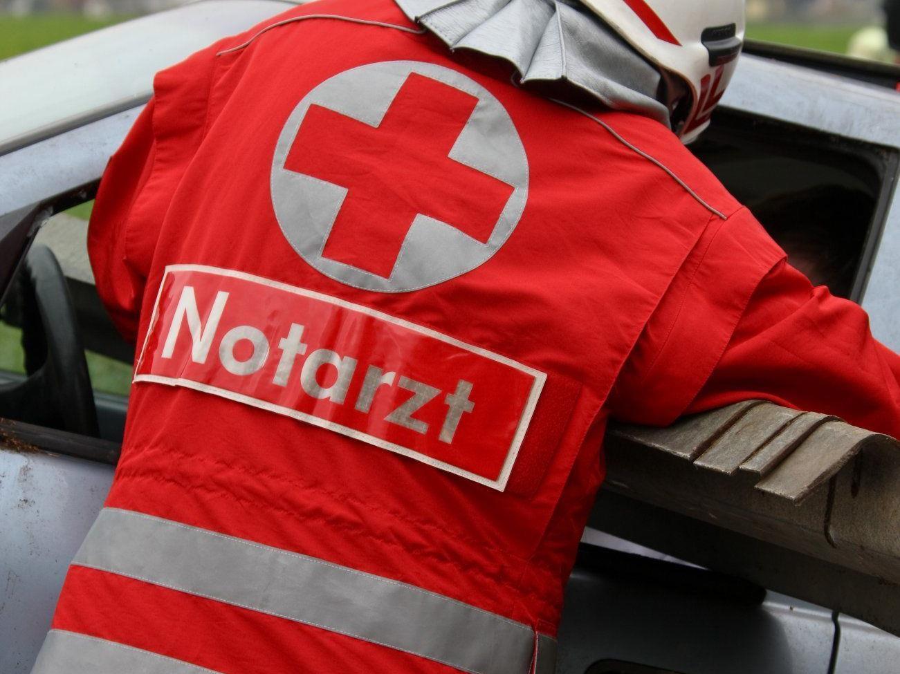 Die Frau wurde schwer verletzt ins KH Meidling geflogen