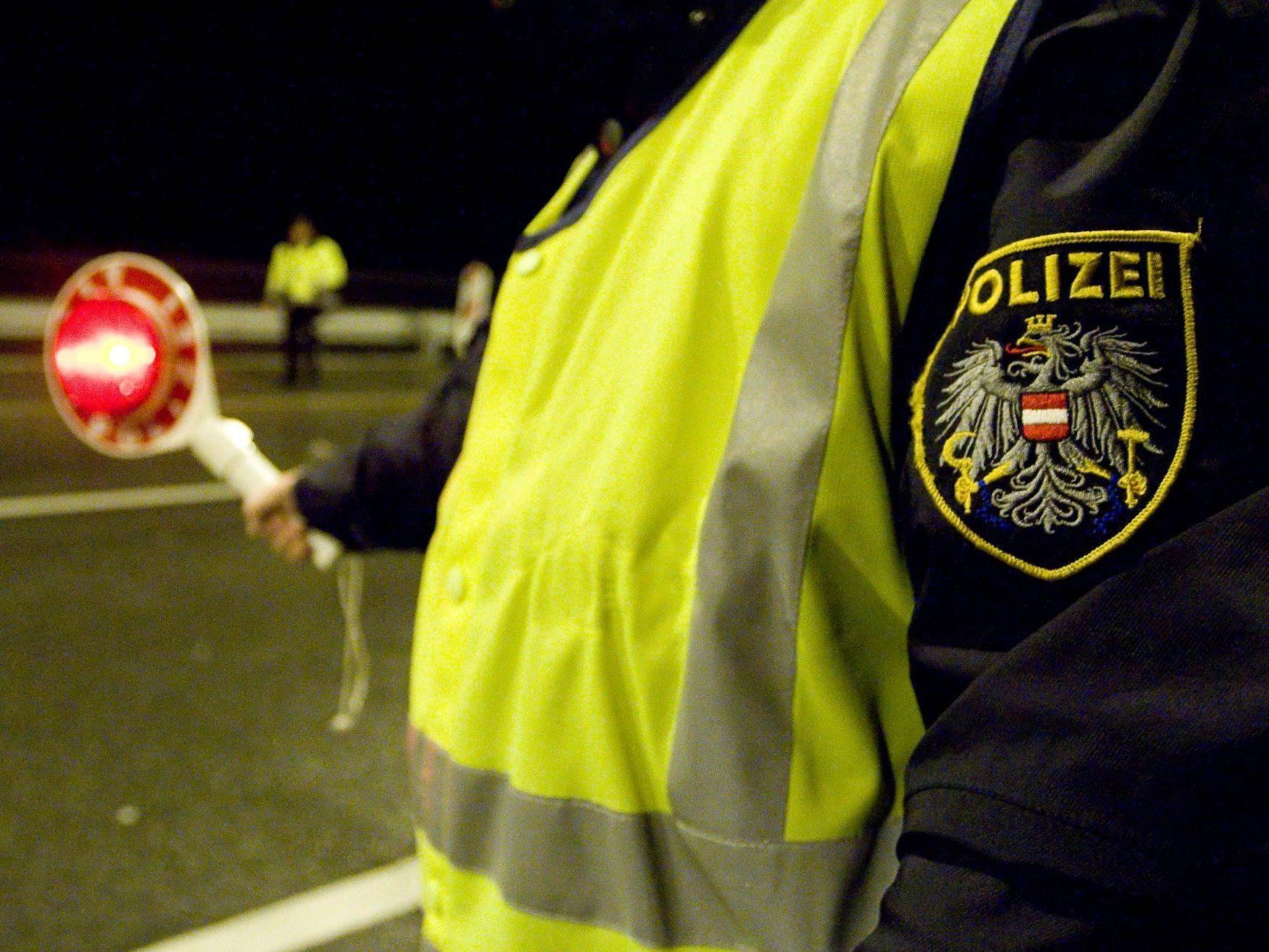 Schwerpunktaktion der Polizei im Raum Dornbirn.