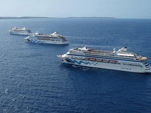 Die Flotte von AIDA