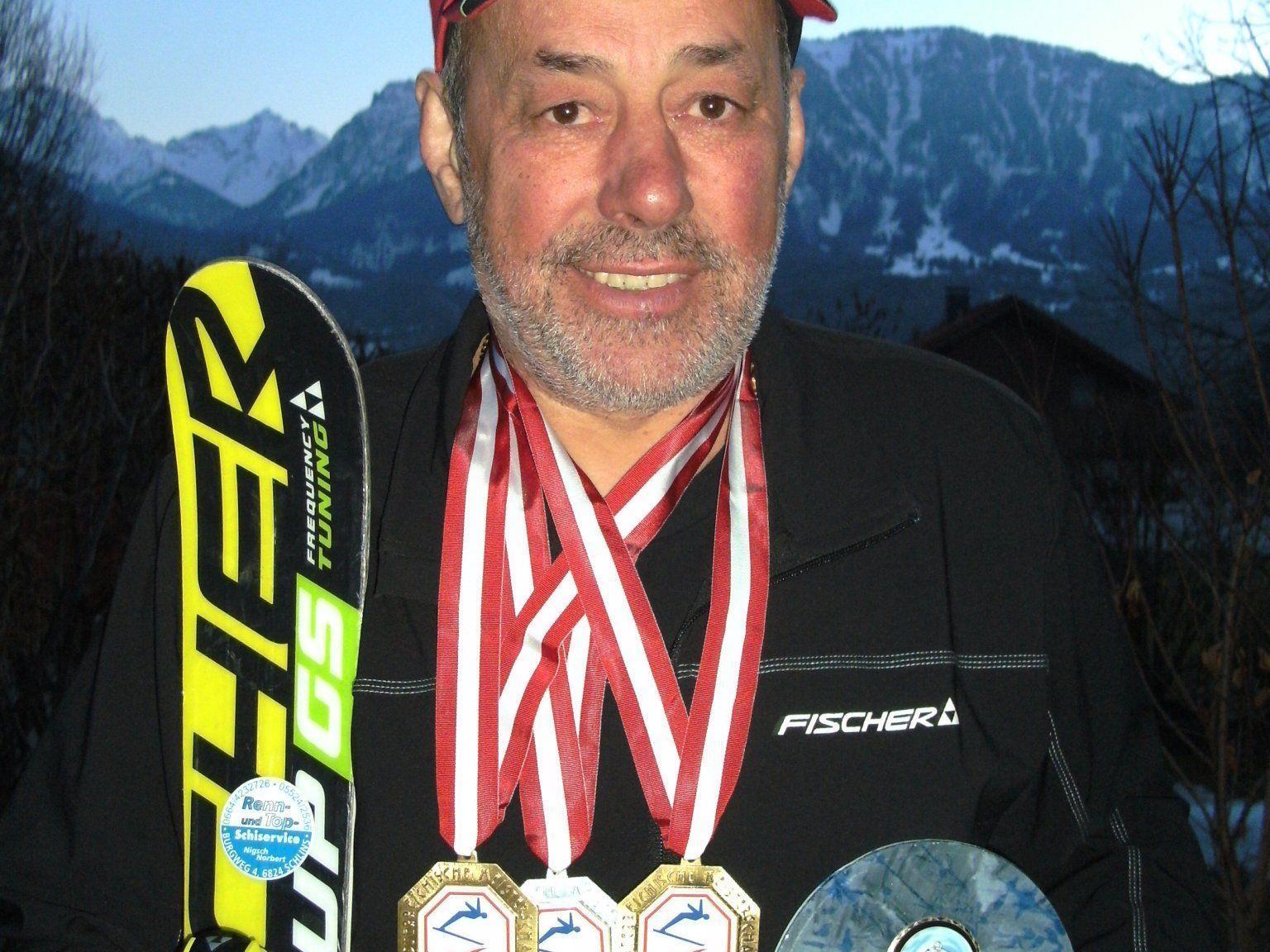 Norbert Nigsch ist Short Carve Staatsmeister 2012.