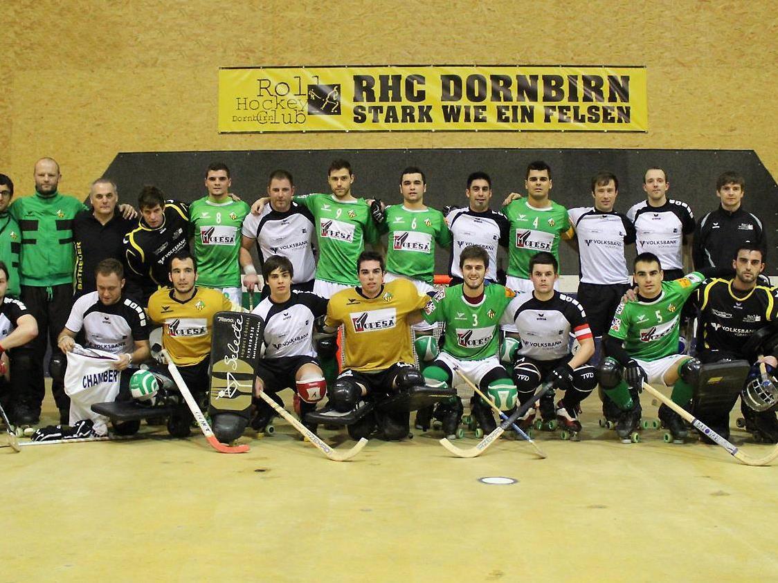 Dornbirn trifft im Rückspiel auf das Spanische Weltklasseteam.