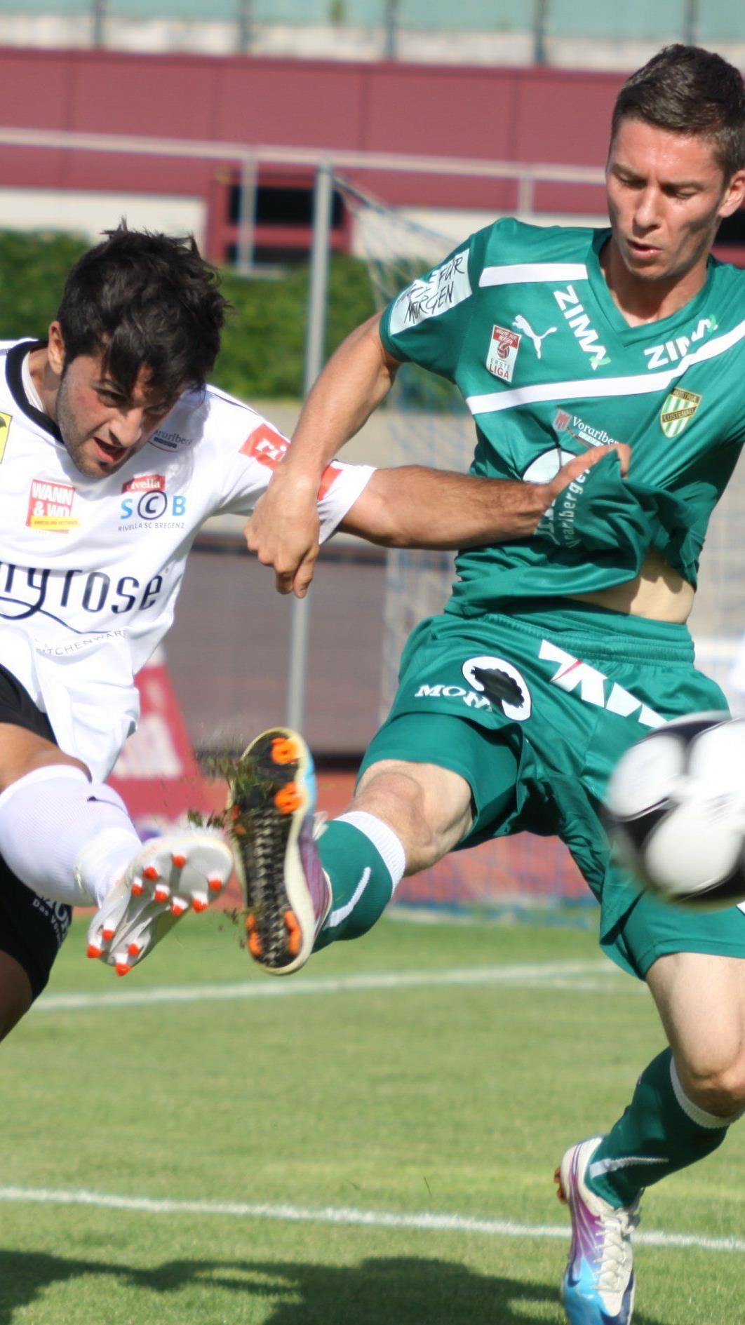 Sercan Altuntas war Torschütze beim 2:0-Testsieg beim VL-Winterkönig Andelsbuch.