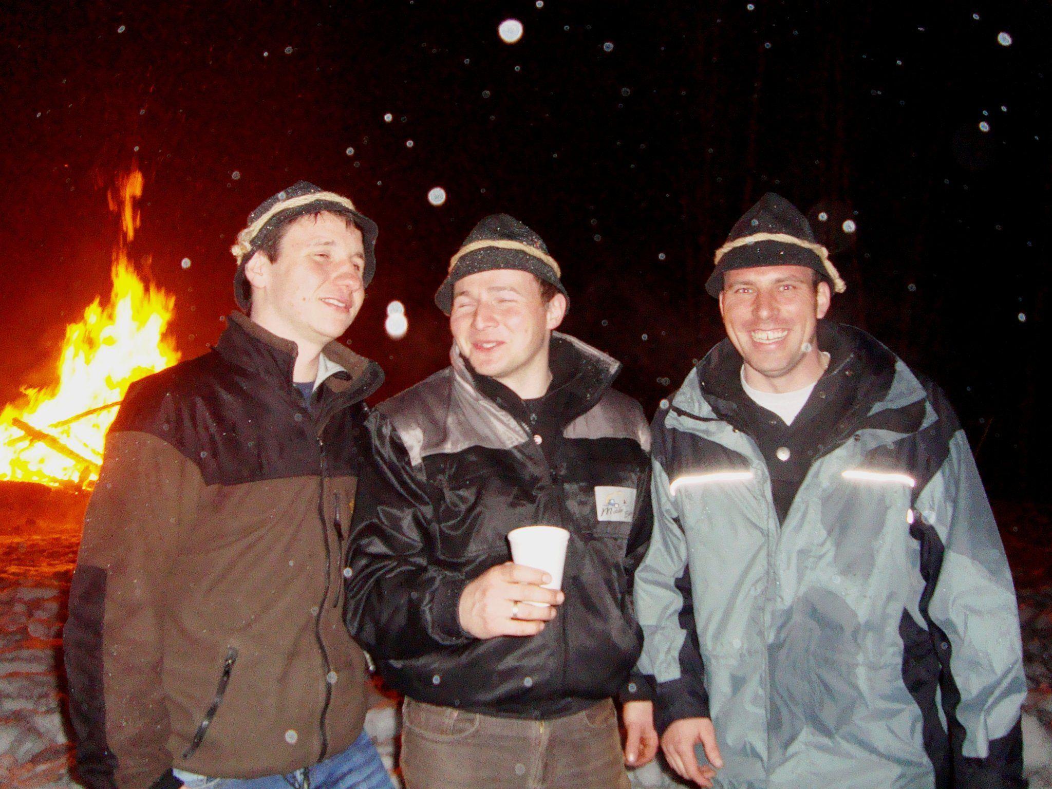 Jodok Rüf, Martin Metzler und Daniel Meusburger