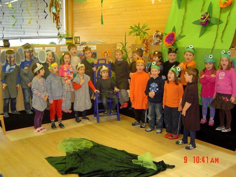 Dschungel Party Im Kindergarten Doren Vol At