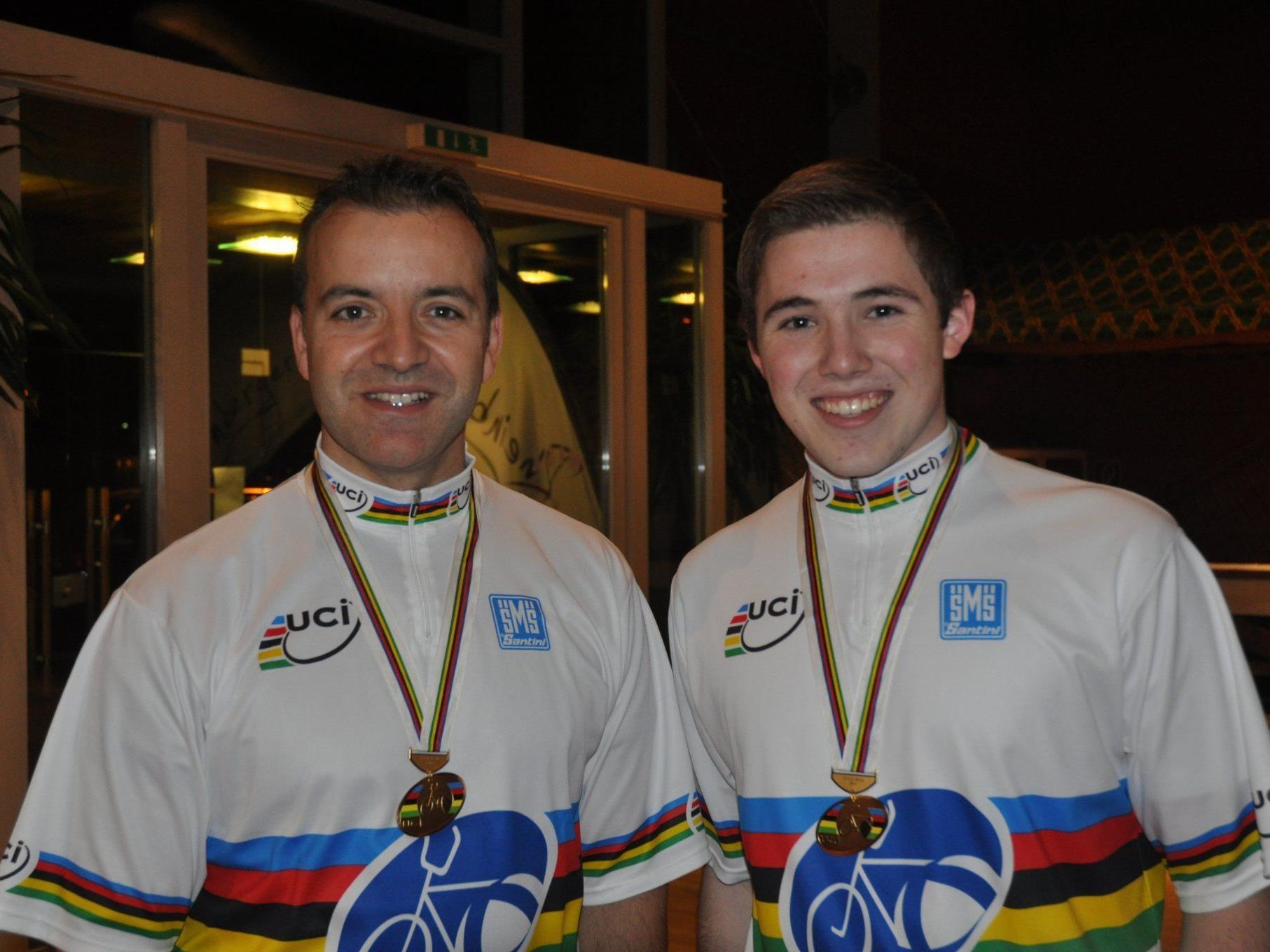 Die Weltmeister Didi Schneider und Patrick Schnetzer waren die Dominatoren in Sulz.