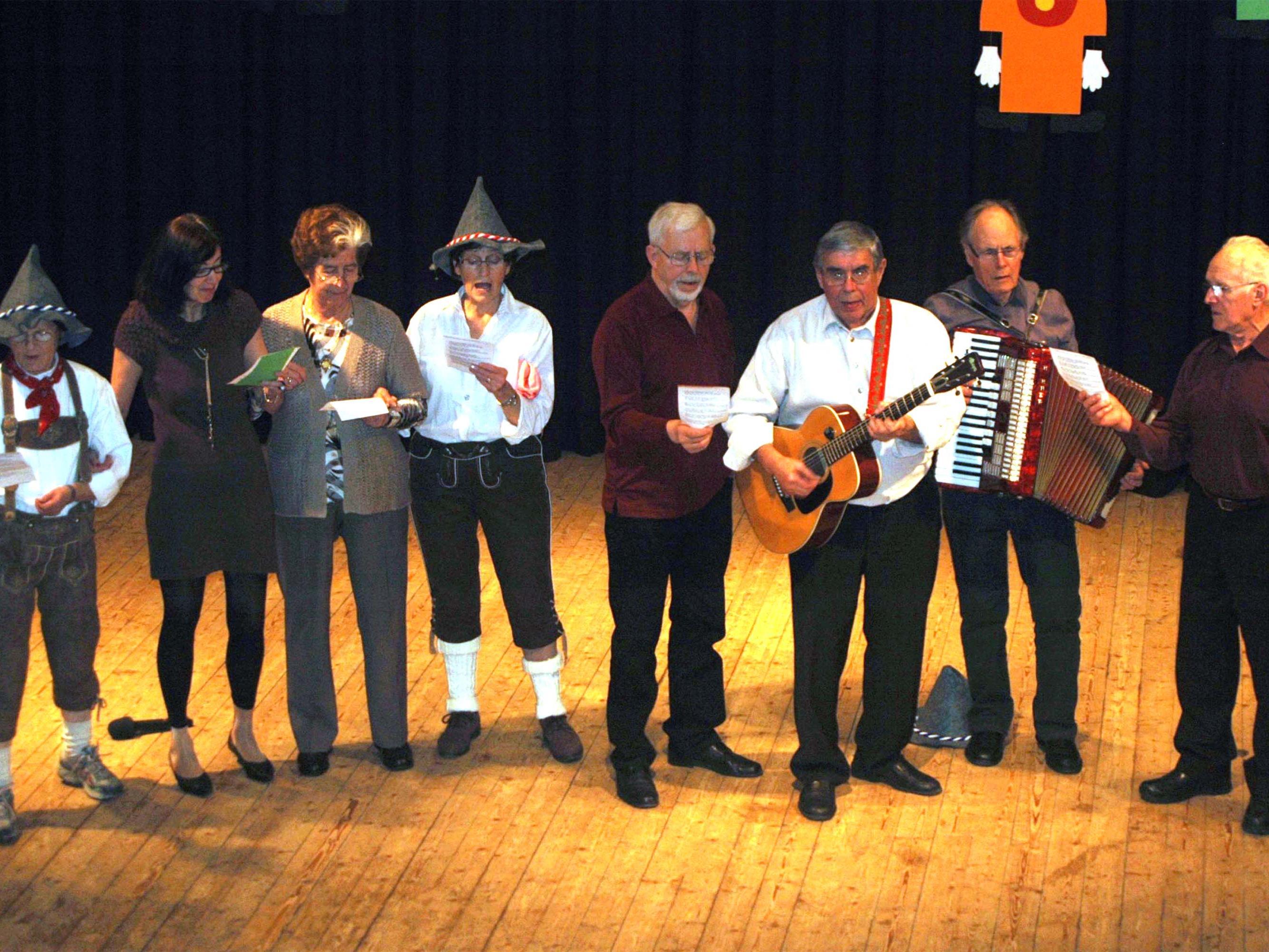 Der Seniorenbund feierte im Gemeindesaal.