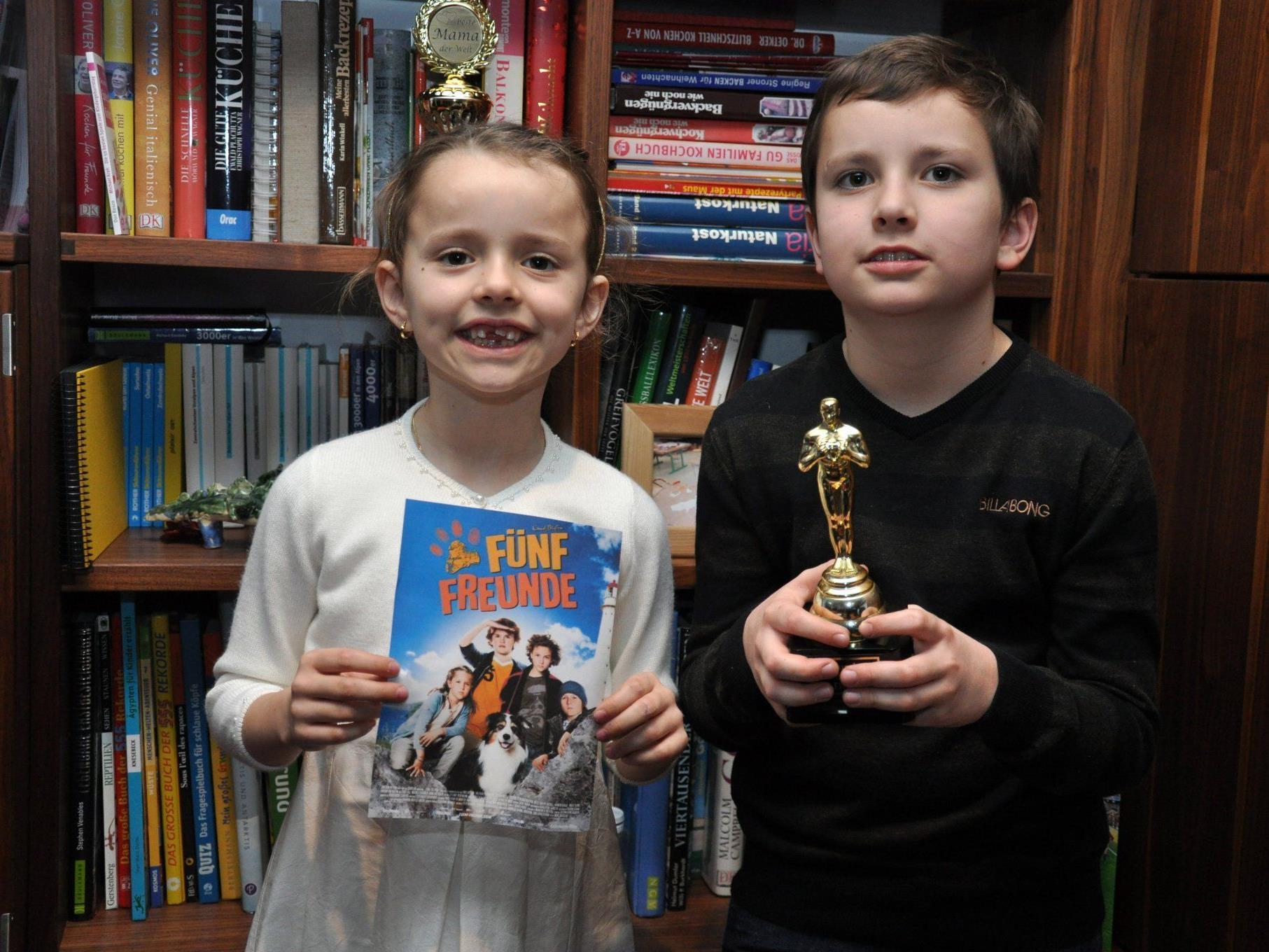 Kinderreporter Lorenz Kanonier vergibt Oscars für die besten Kinderfilme.