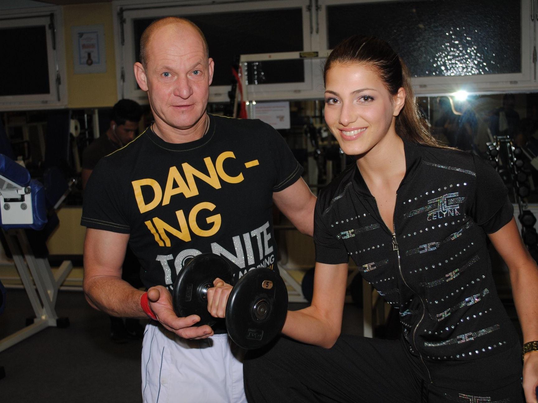 Uwe Schaaf trainiert Amina bereits seit einigen Monaten