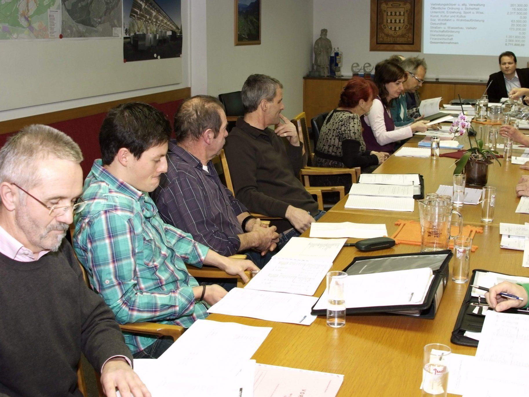 Die Thüringer Gemeindevertretung befasste sich mit dem Budget 2012.