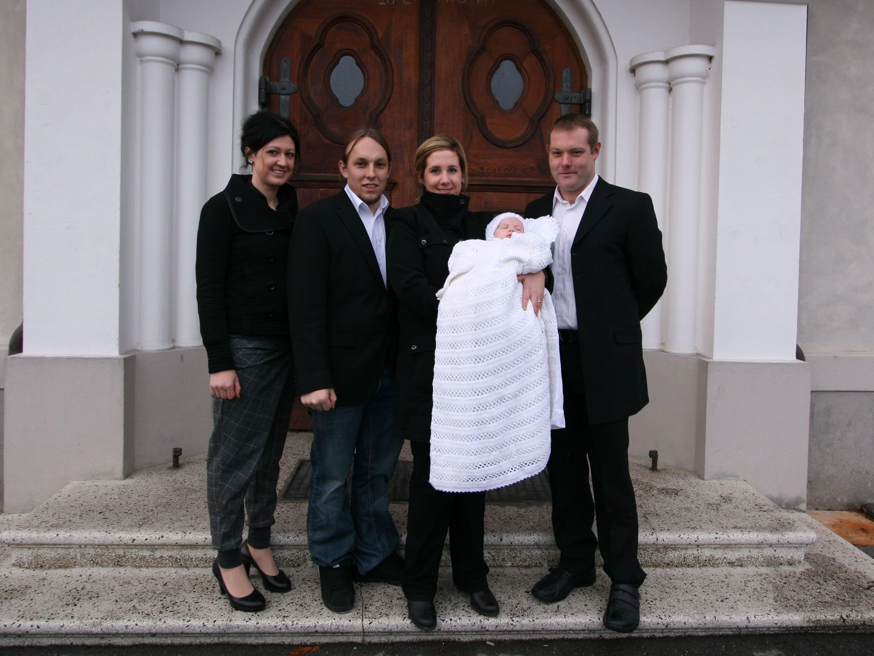 Taufe von Emma Beck