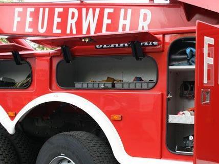 Die Feuerwehr musste zu einem Brand in Amstetten ausrücken