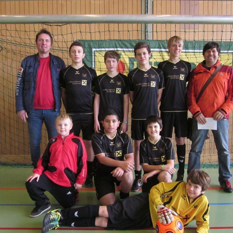 RW Rankweil Unter-14-Mannschaft wurde Turniersieger in Lauterach.