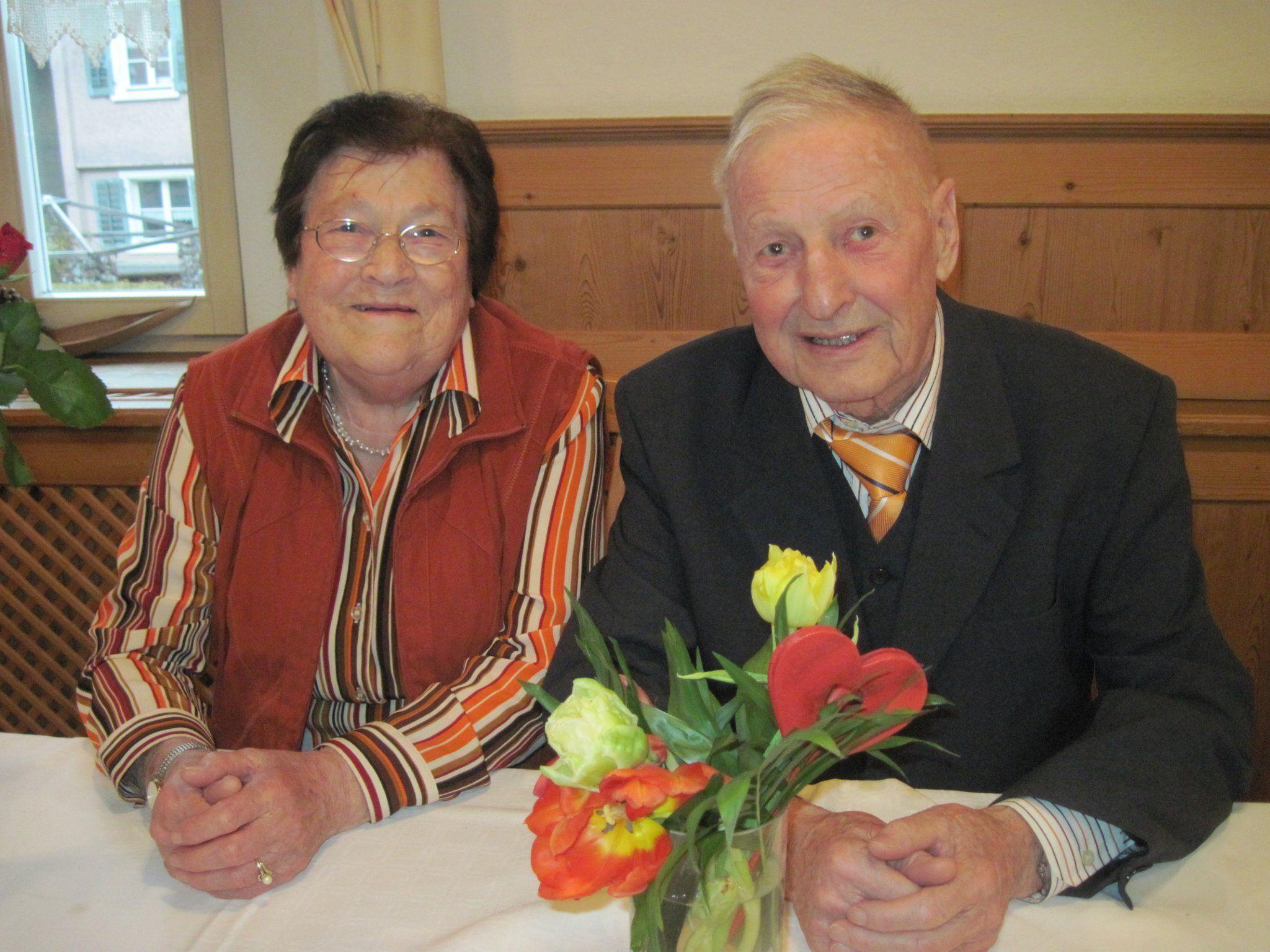 Seit 60 Jahren gehen Hedi und Siegfried gemeinsam durchs Leben