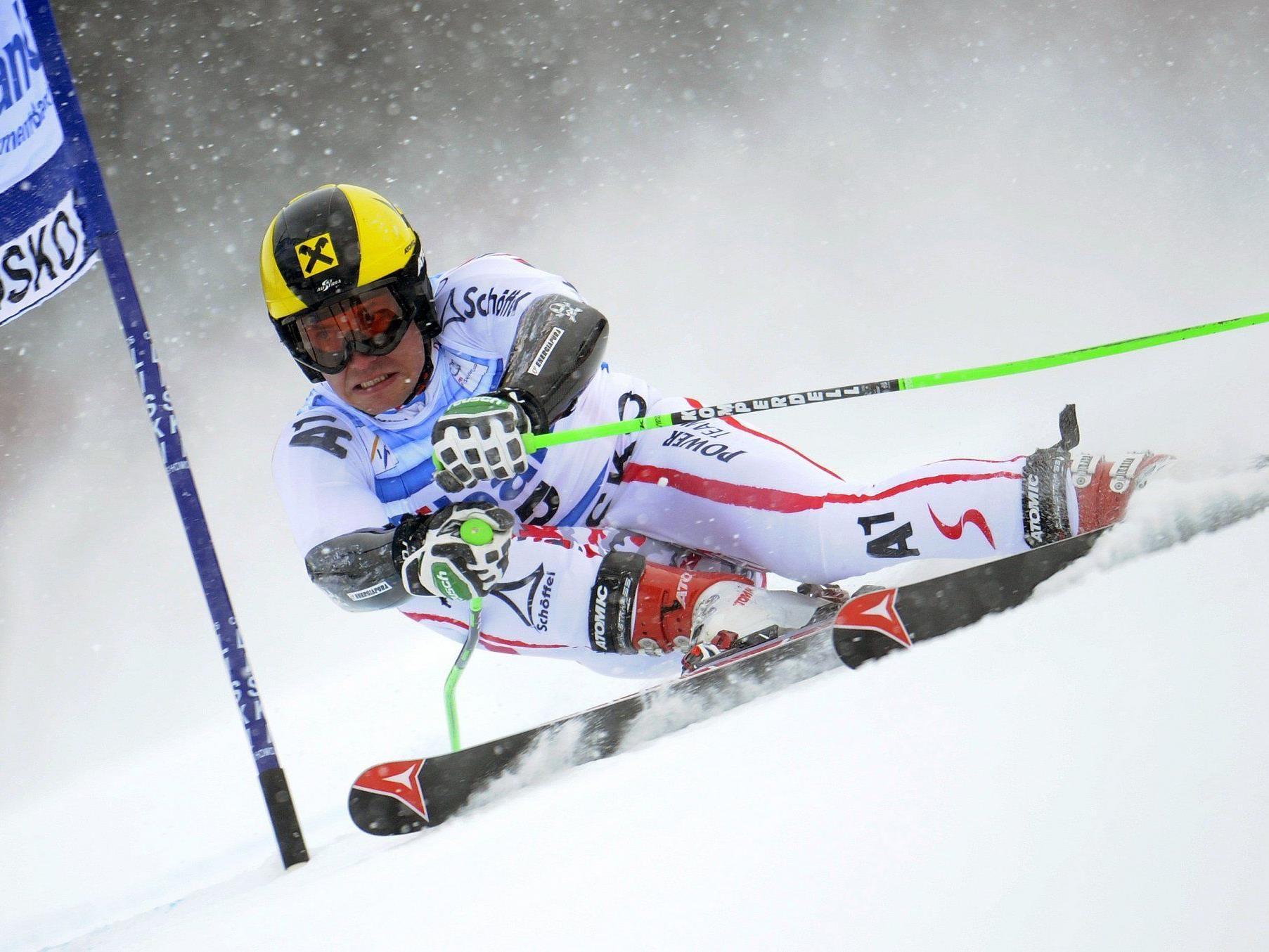 Hirscher siegt in Bansko - Marcel Mathis sensationell Dritter.