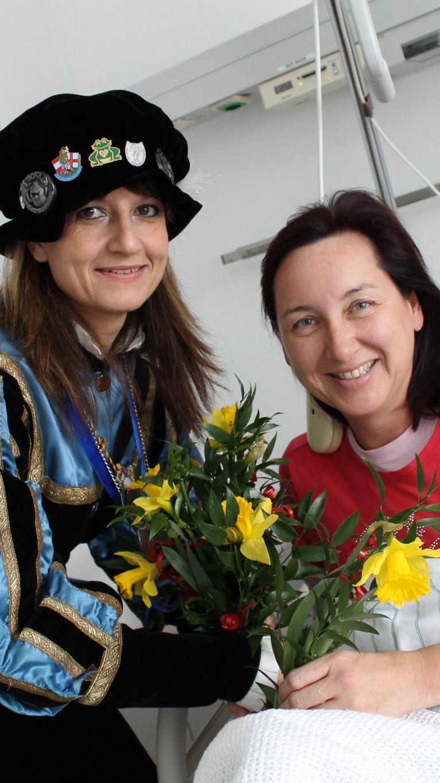 Große Freude über närrischen Umtrieb im LKH Feldkirch