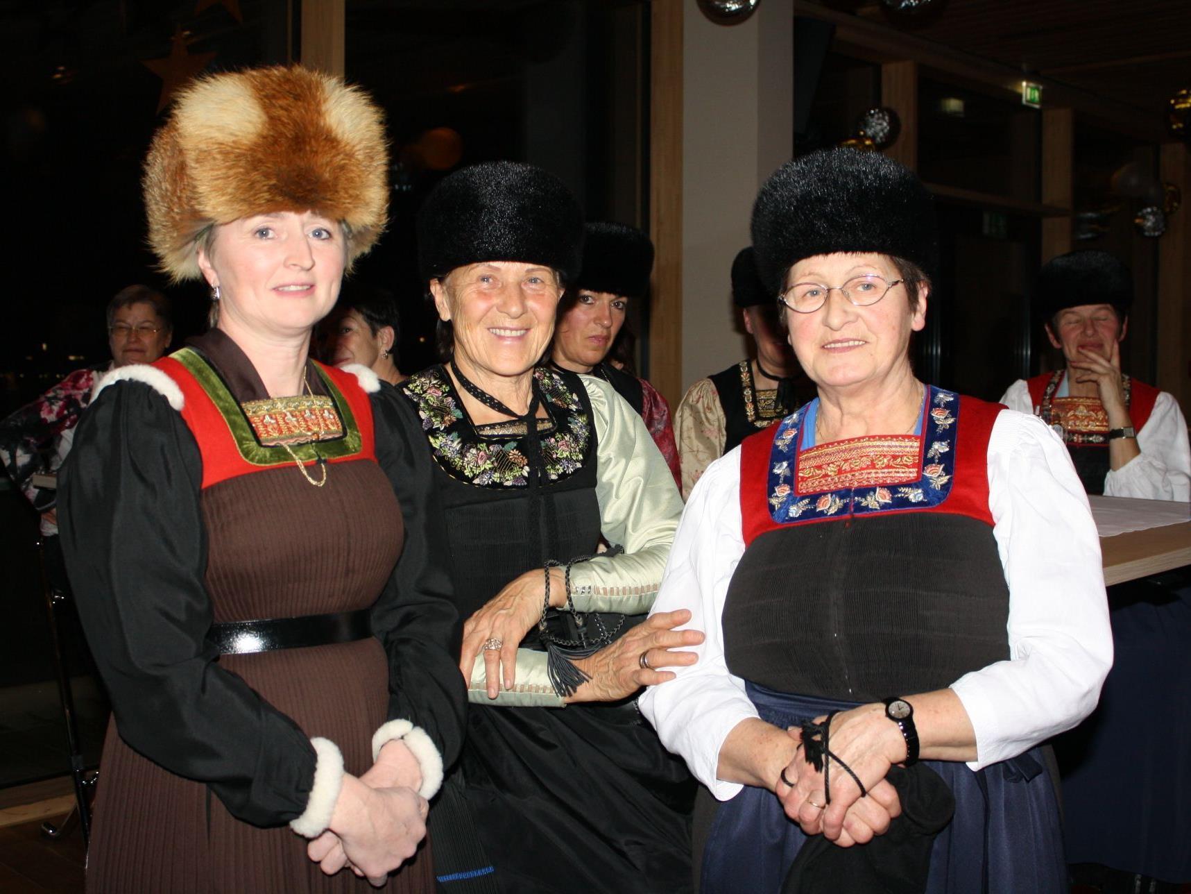 Die Bregenzerwälder Tracht stand im Mittelpunkt der Veranstaltung.