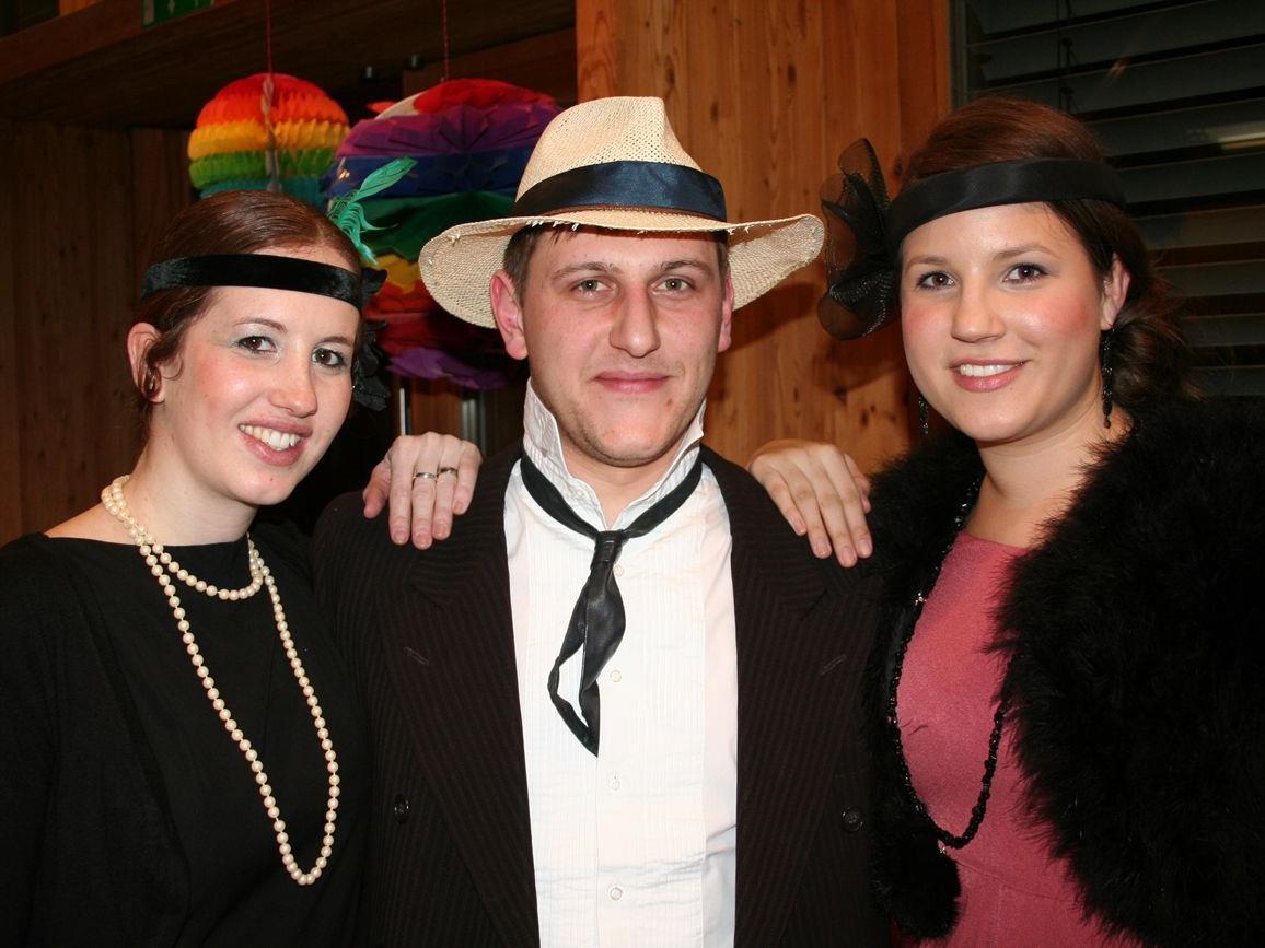 So waren sie, die 20-er …Isabella, Ludi und Martina.