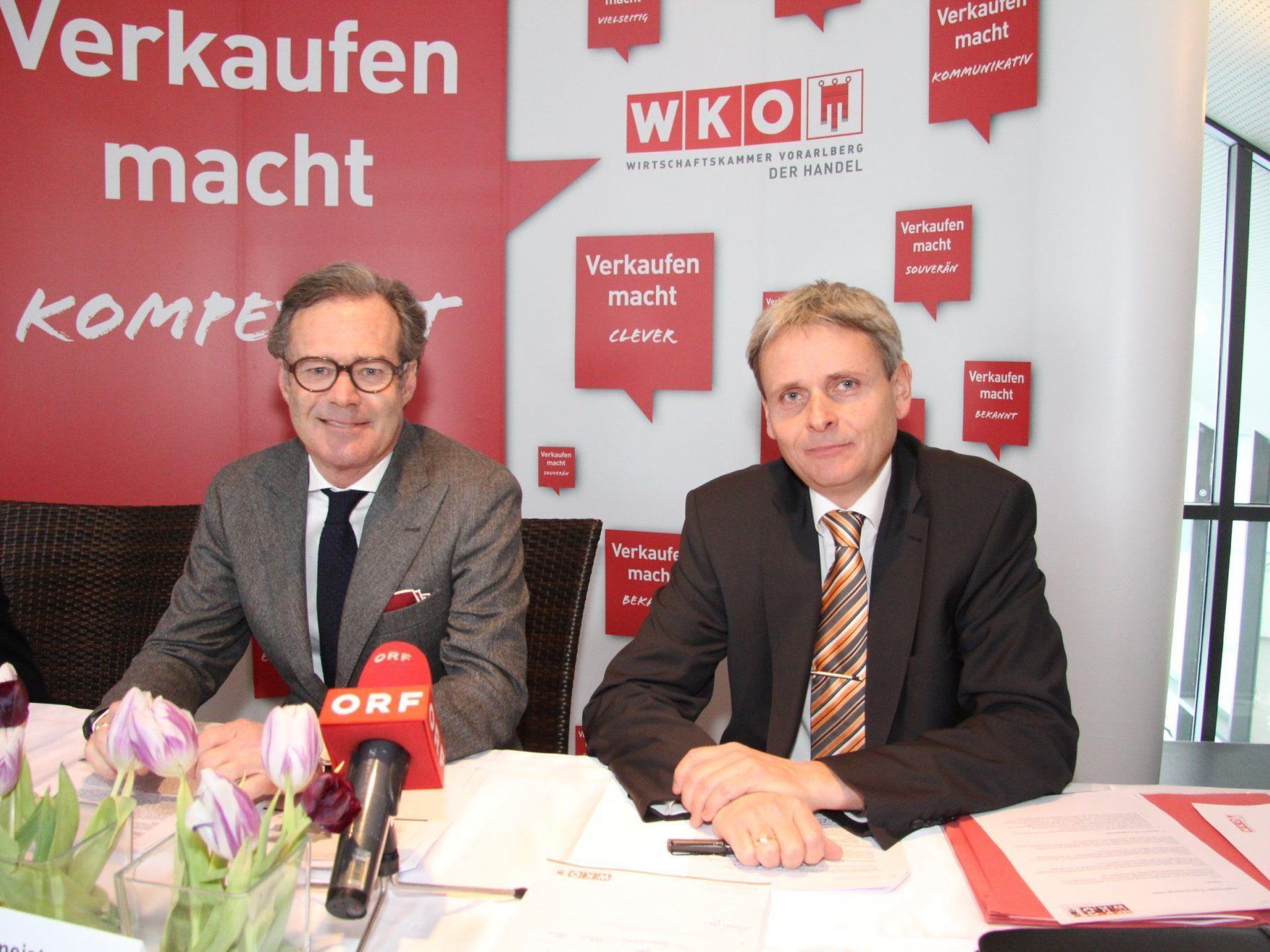 Vorarlbergs Handel Spitzenreiter in Österreich