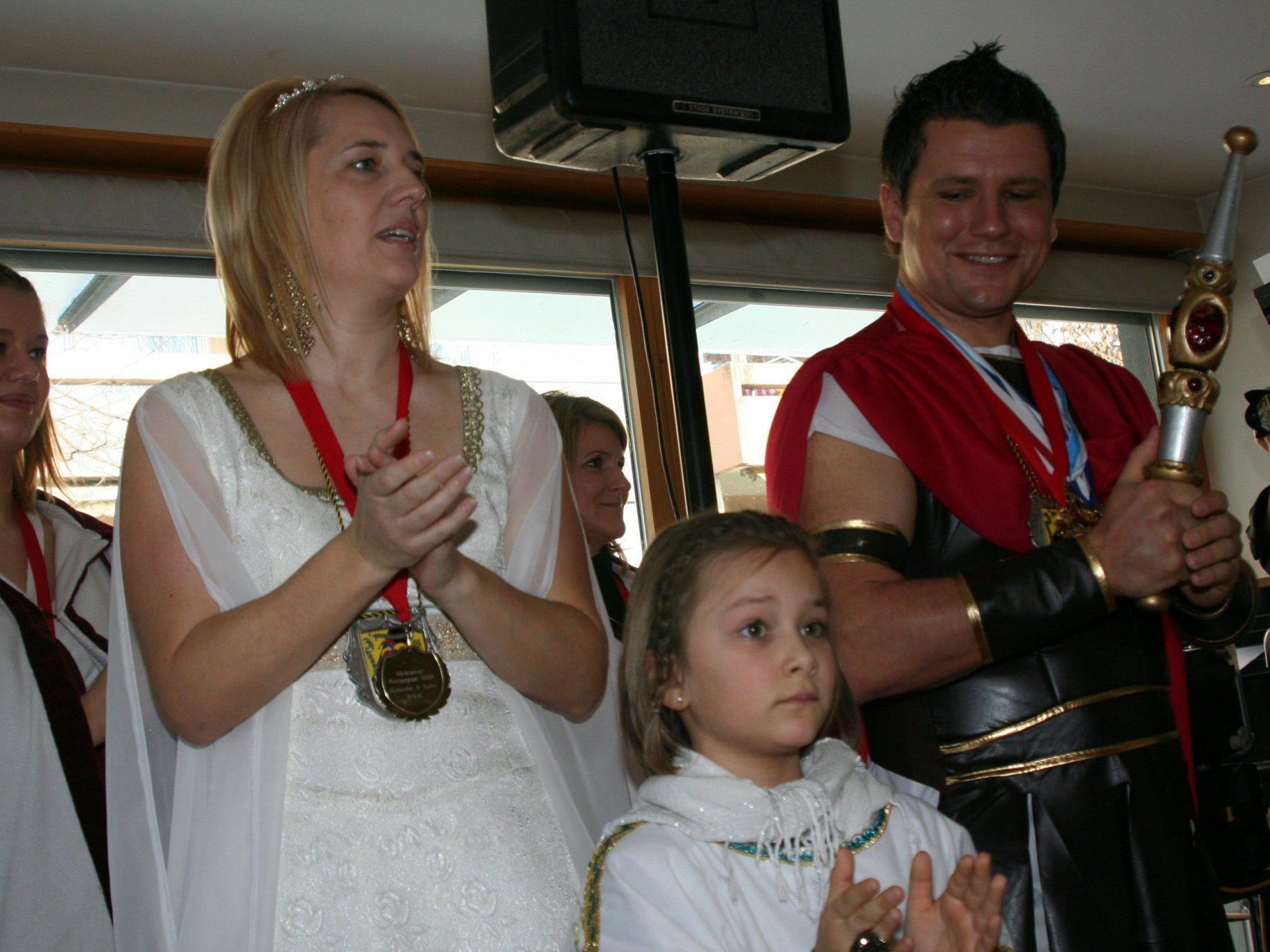 Die Prinzenfamilie bei den Kneipianern