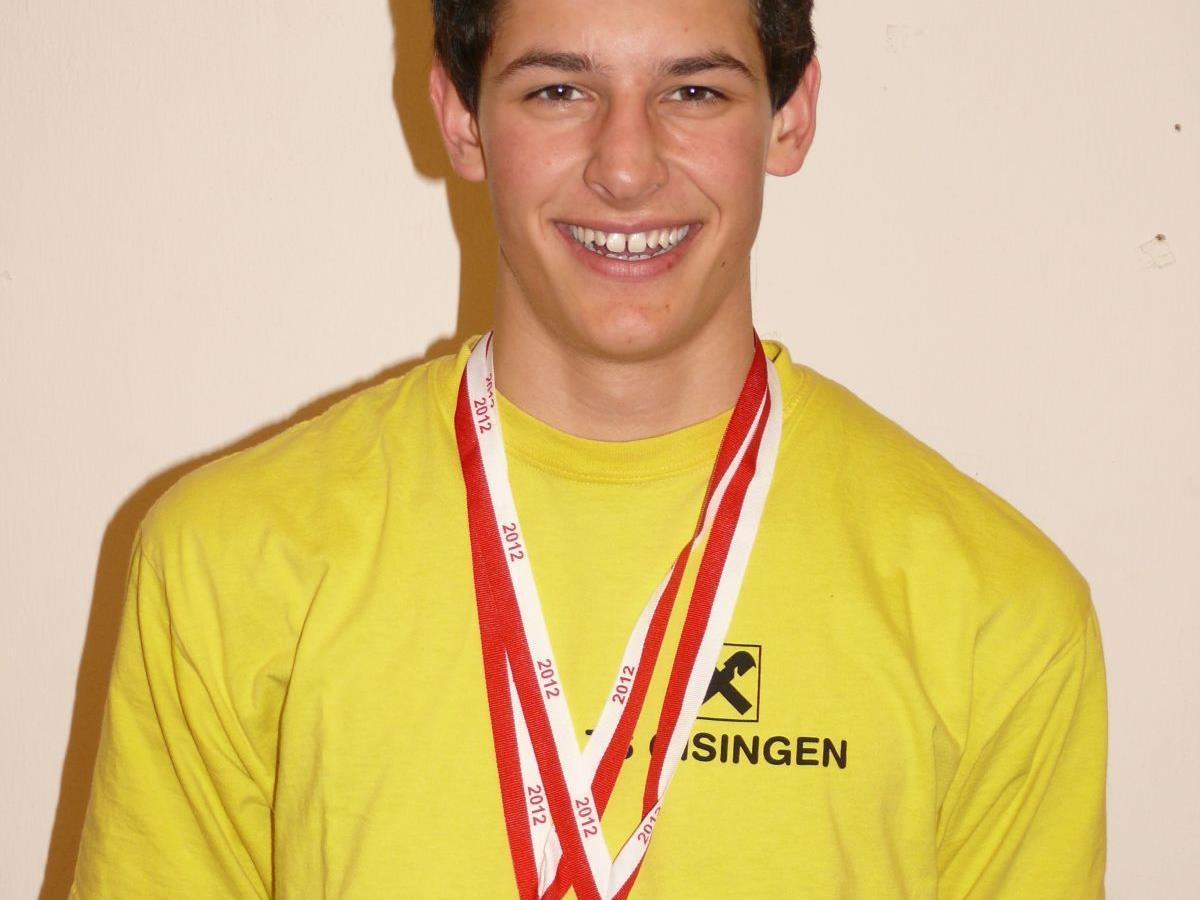Leon Gau - Erfolgreichster Athlet in der Altersklasse MU18