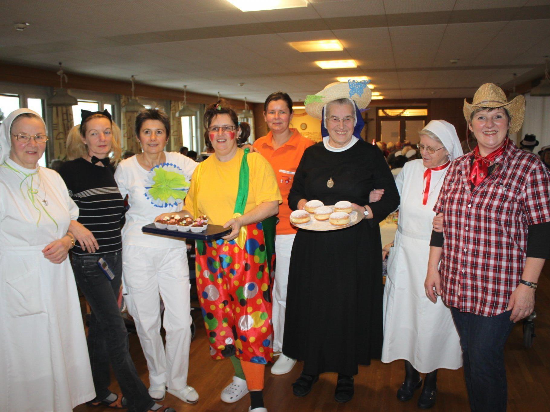 Das Faschingskränzle im Pflegeheim Jesuheim hat Tradition.