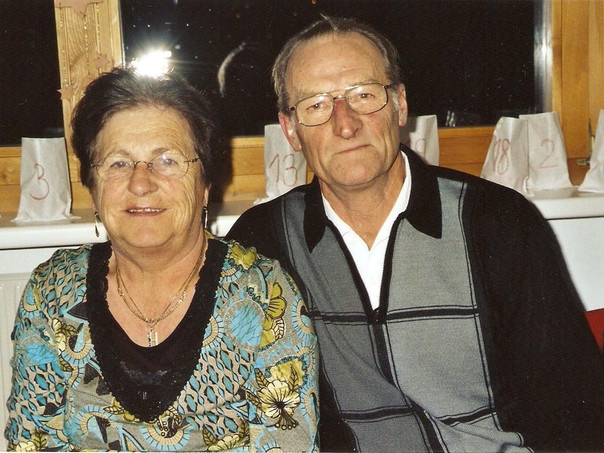 Hannelore und Leo Mähr genießen jeden Tag, den sie zusammen sein können.