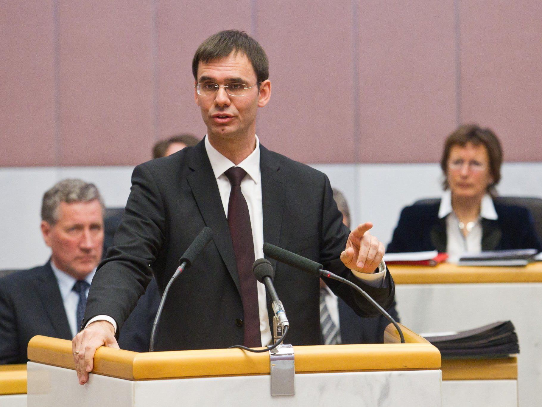 Landeshauptmann Markus Wallner kann sich mit einer Verkleinerung des Landtages anfreunden.