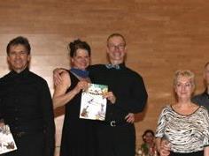 Tanzten erfolgreich beim WestDance Turnier in Hohenweiler