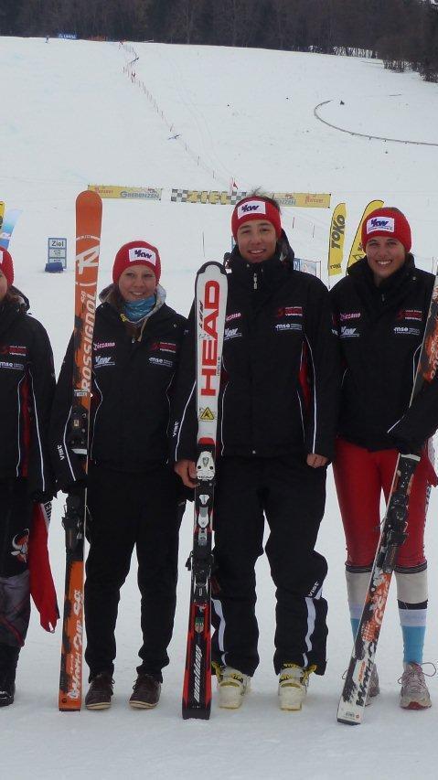 Viele Topplatzierungen der Vorarlberger Starter beim ÖSV-Testrennen.