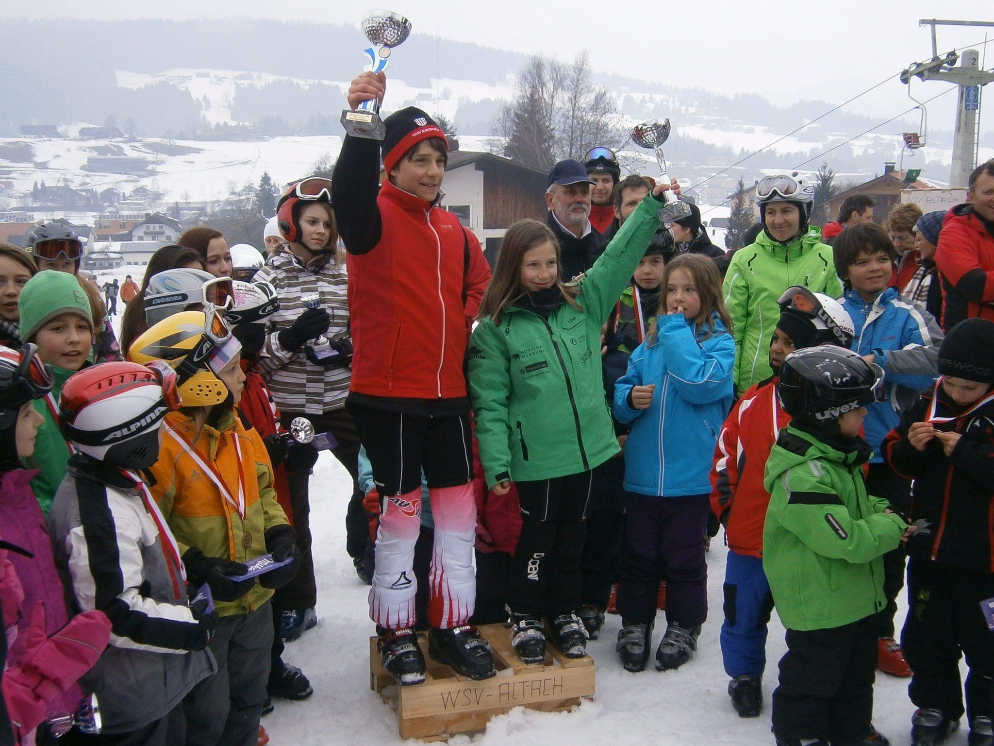 Schülermeister 2012 - Lukas Monz und Lisa Gastl