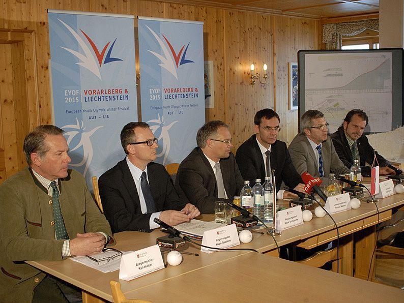 Ein Zwischenbericht zum aktuellen Stand der EYOF-Vorbereitungen wurde in Tschagguns vorgelegt.