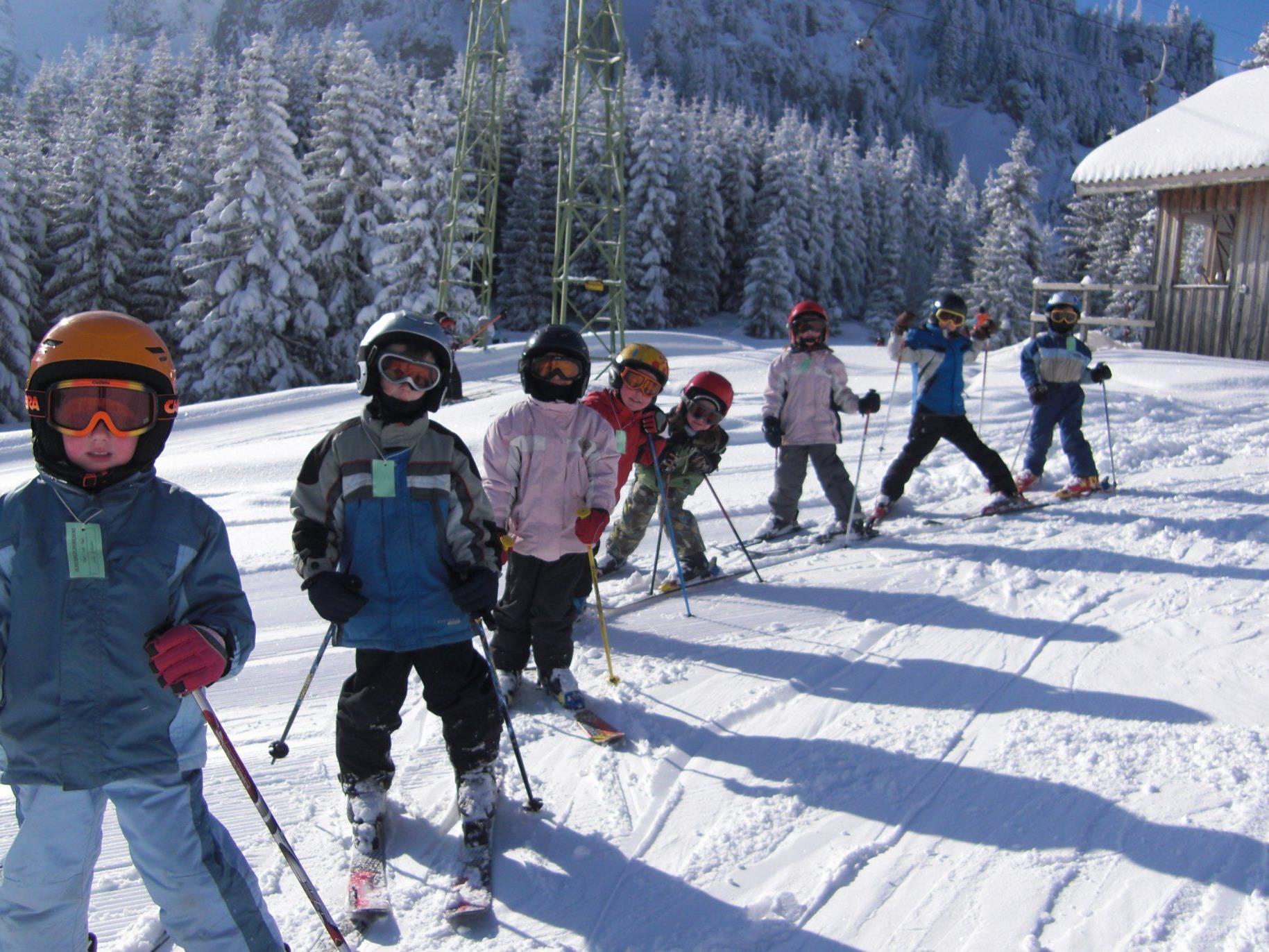 Der Schiverein Hohenems veranstaltet in den Semesterferien einen Kinderschikurs.
