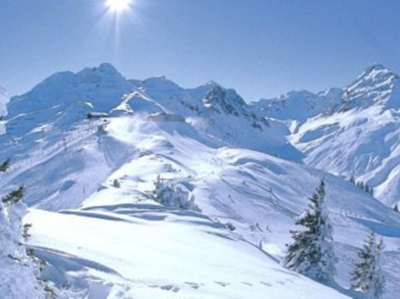 Im Skigebiet Montafon lässt sich der Traum vom Sport in Weiß erfüllen