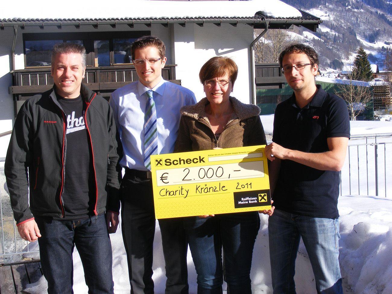 Andreas Kasper, Michael Fritz, Irmgard Müllerund Christoph Lerch (v.l.n.r.)