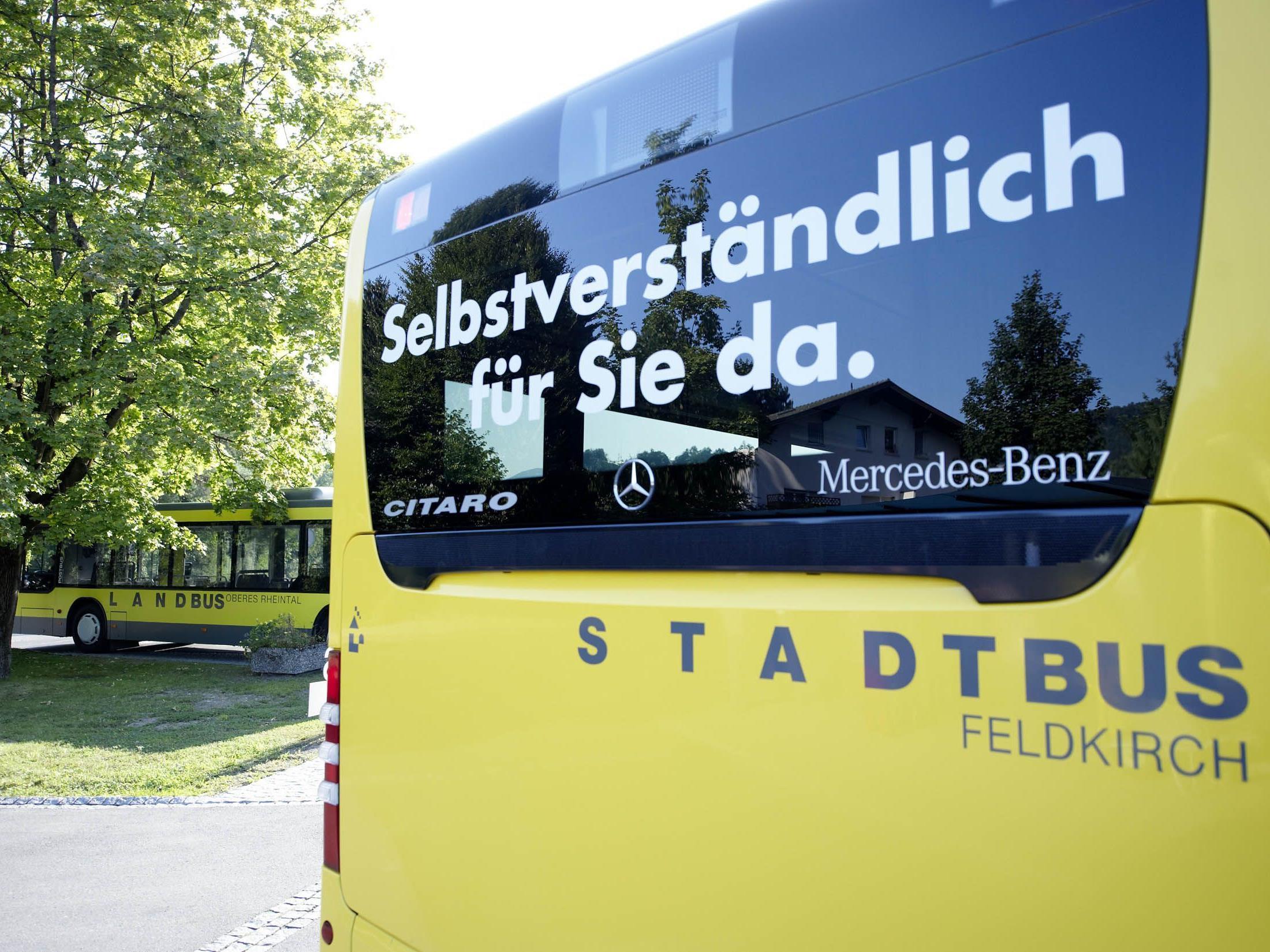 Stadt und Landbus sind der ideale Zubringer zum größten Faschingsumzug des Landes in Feldkirch.