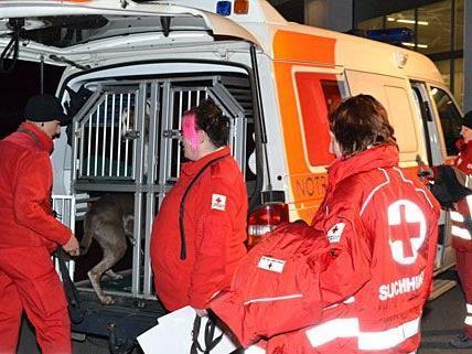 In Bad Sauerbrunn wurde im Zuge eines Großeinsatzes nach einem Vermissten gesucht