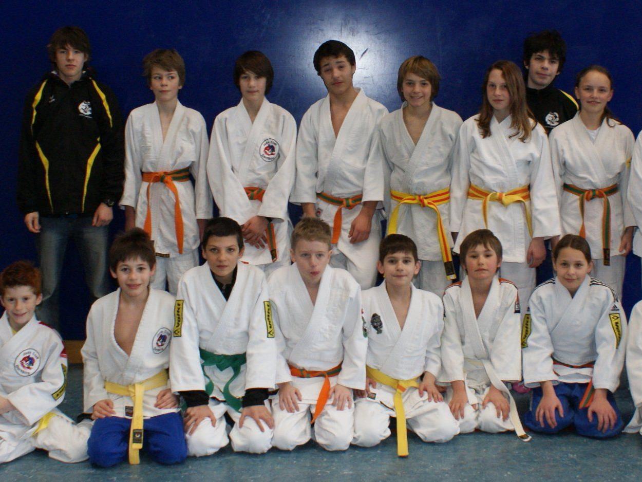 Top Resultate gab es am Wochenende für die Dornbirner Judoka.