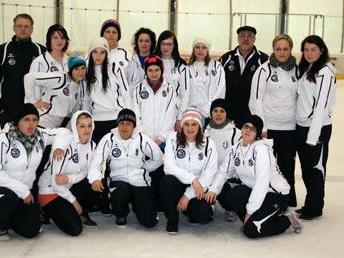 Die VEU Hockey Chicks in Telfs