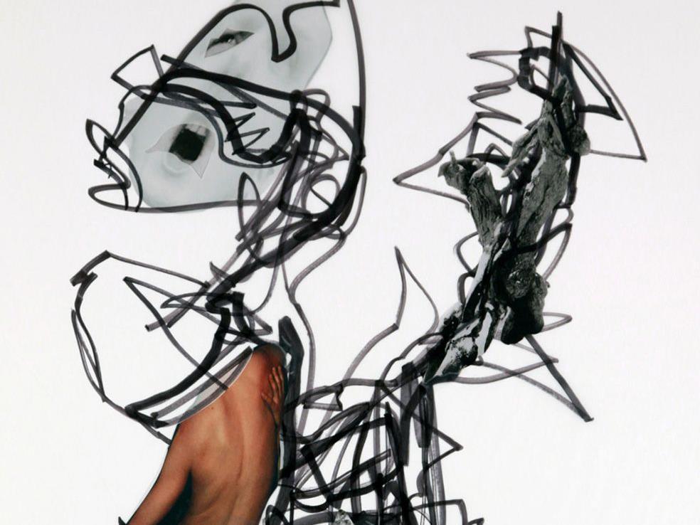 Bildausschnitt eines Werkes von Timo Huber.