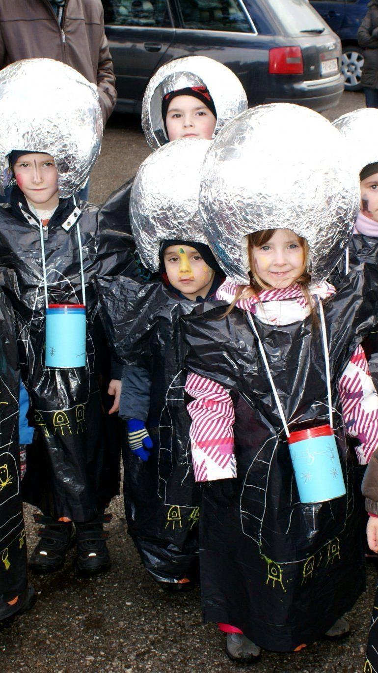 Die kleinen Astronauten von Tisis