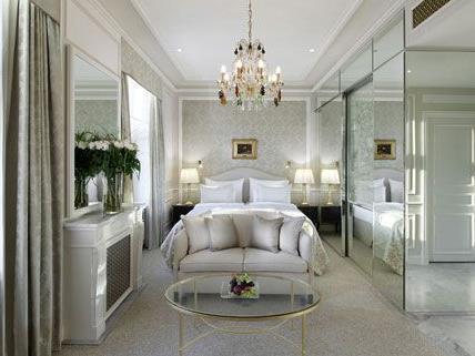 Das Hotel Sacher zeigt die neuen Räume - hier etwa den Top Deluxe Room.