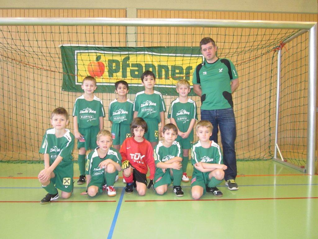 Das siegreiche U8-B-Team vom FC Lauterach